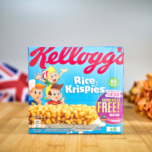 Rice Krispie Milk Cereal Bar aus England