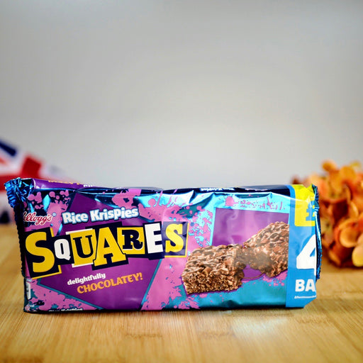 Rice Krispies - Squares Delightfully Chocolatey (4x 26g) aus England