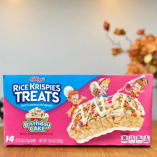 Rice Krispies Treats - Birthday Cake (14er) aus Amerika