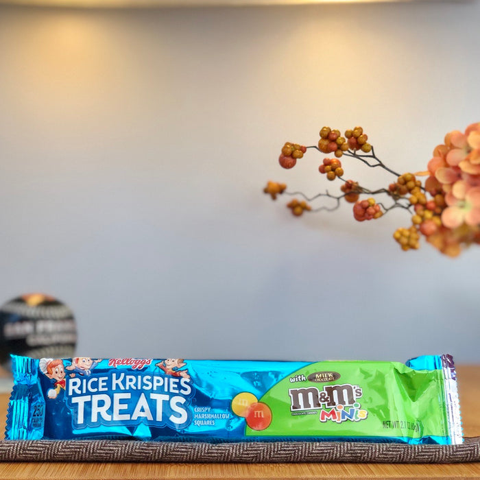Rice Krispies Treats with M&M's