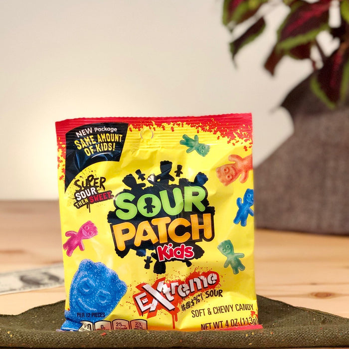 amerikanische Gummibaerchen Sour Patch Kids Extreme Sour
