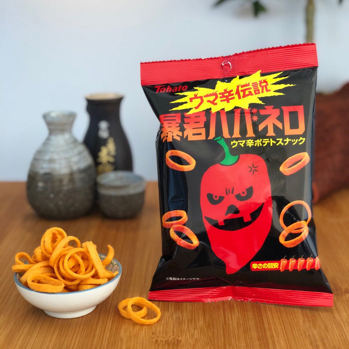 Spicy Hot Umakara Habanero Potato Rings