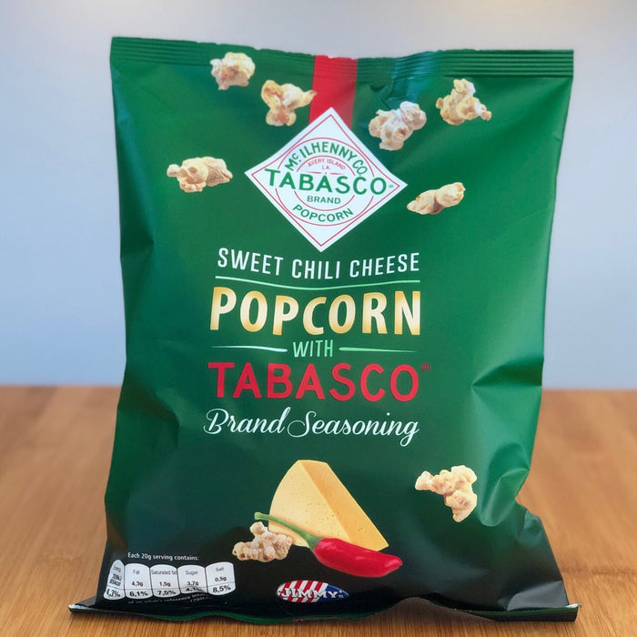Sweet Chili Cheese Popcorn mit Tabasco