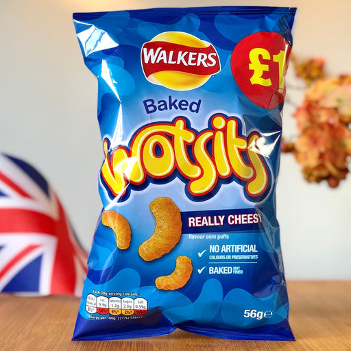 Wotsits - Really Cheesey aus England