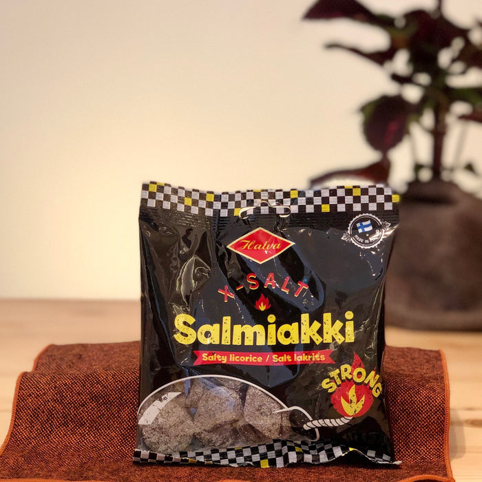 Finnisches Salmiak X-Salt Salmiakki