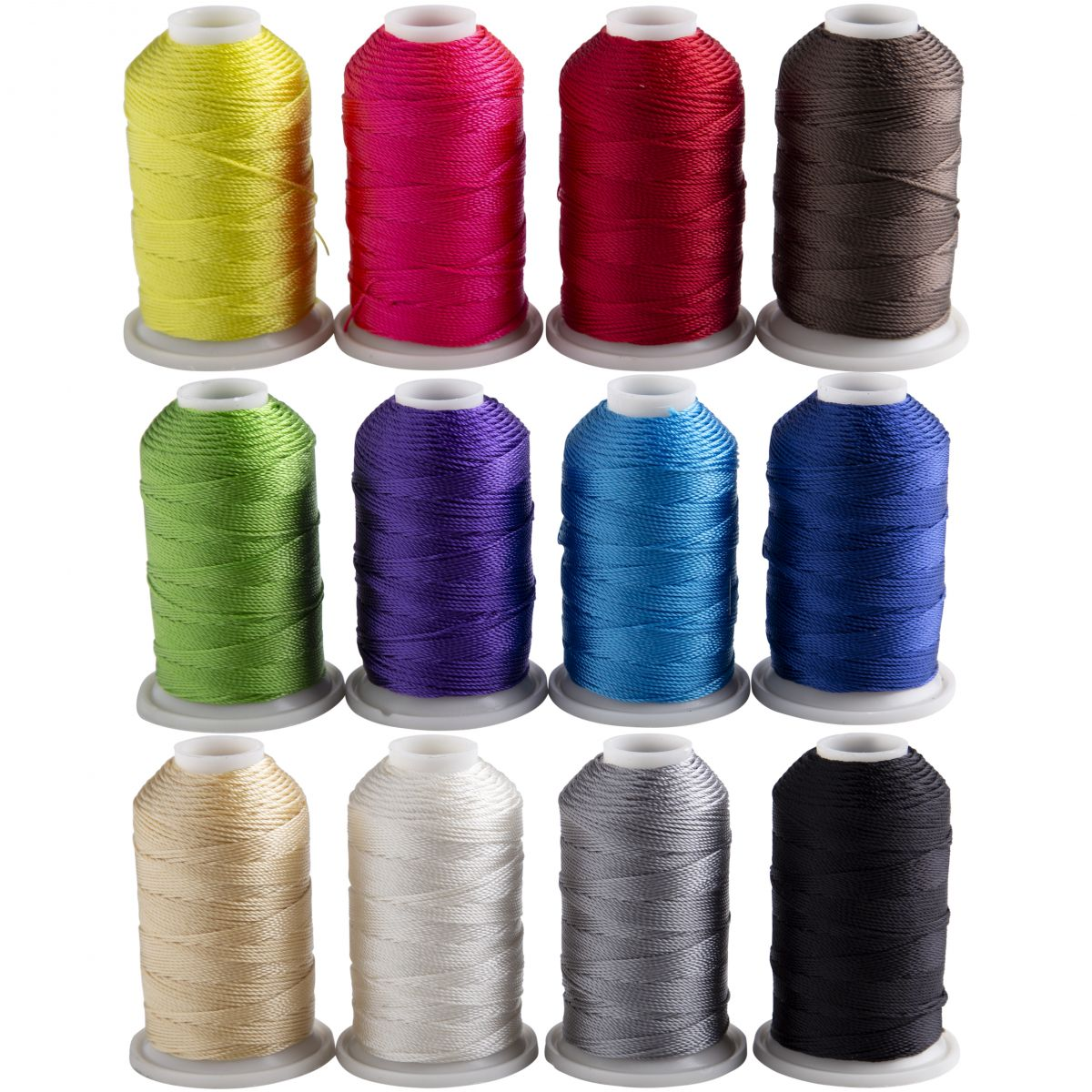 TandyPro® 1 oz Spool Thread - Bright Colors 12 Pack