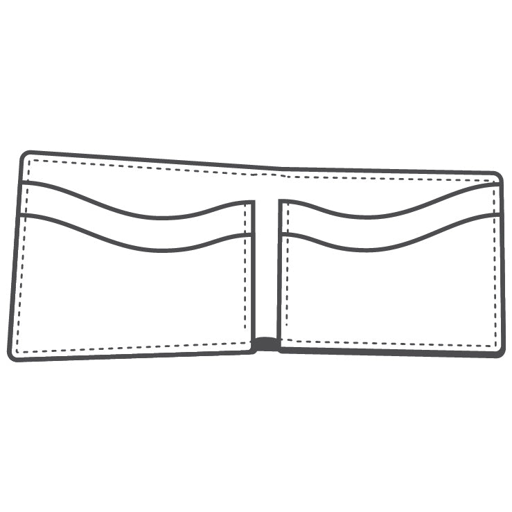 TandyPro® Classic Billfold Template