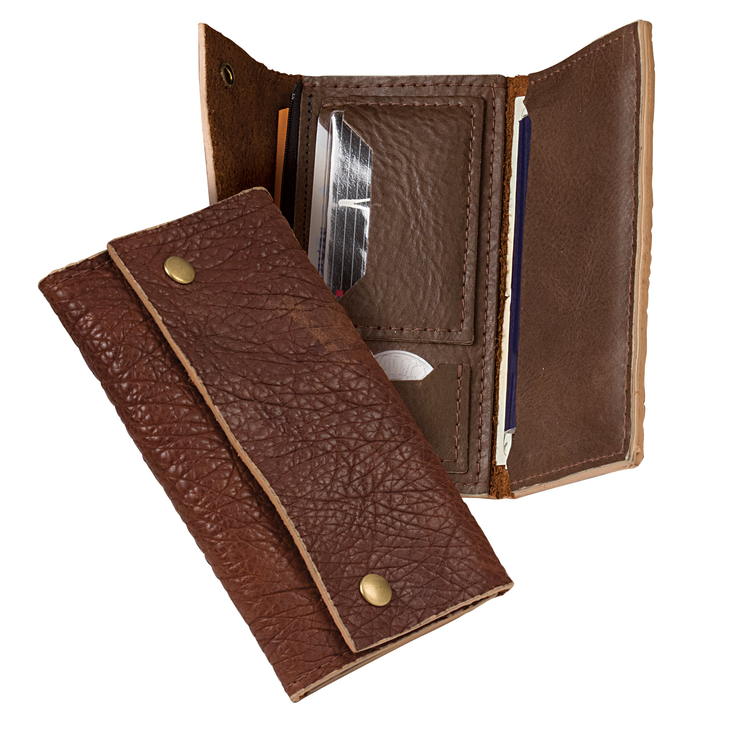 Bison Surveyor Wallet Leather Only - 10 Pack