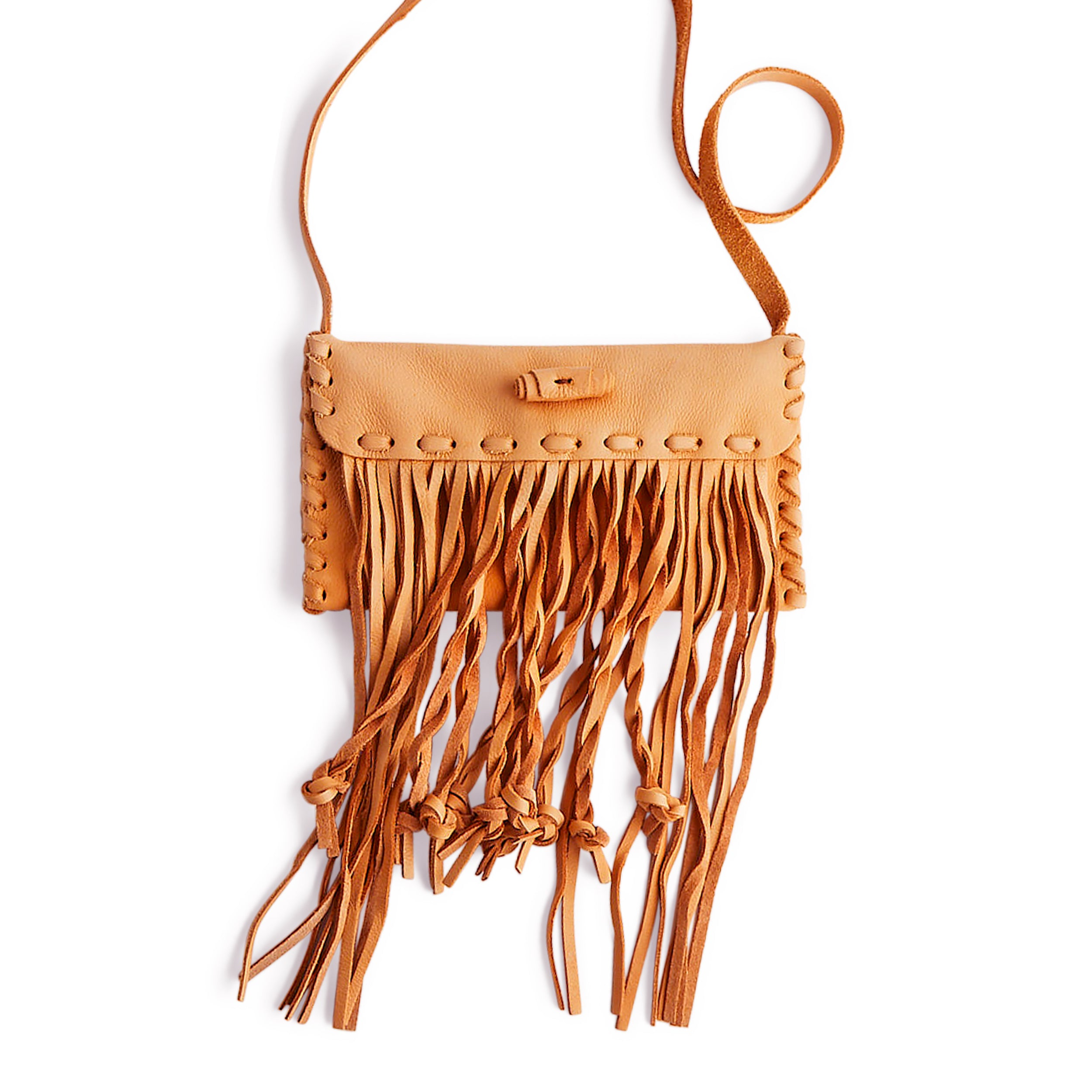 Carly Fringe Bag Leather Only - 10 Pack