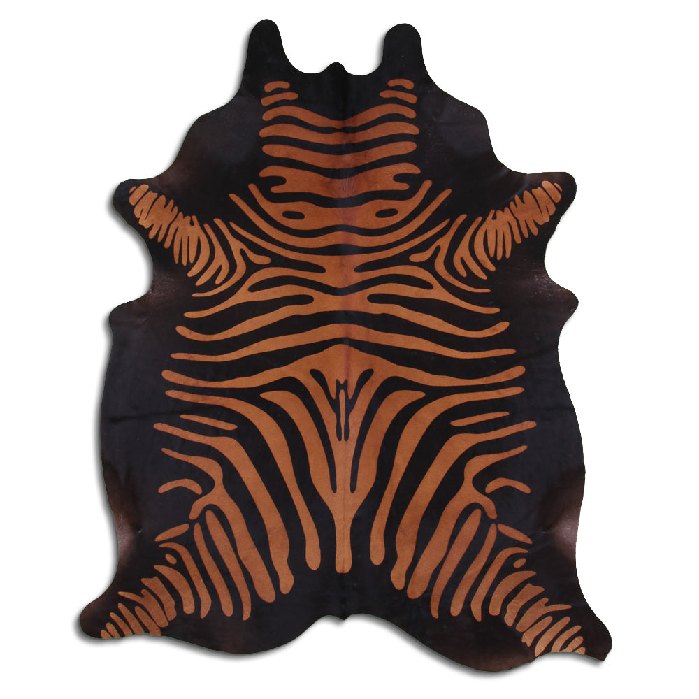 Hair-On Cowhide Rug - Zebra Black