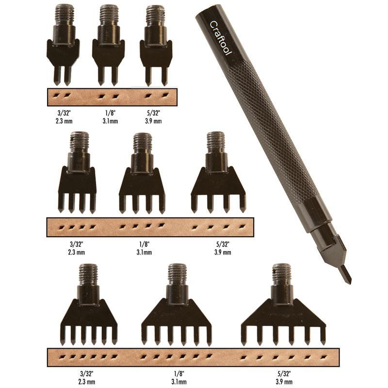 Diamond Hole Chisel Set