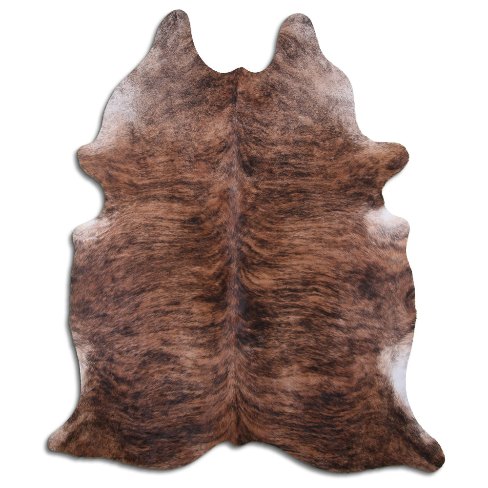 Luxe Hair-On Cowhide Rug Brindle