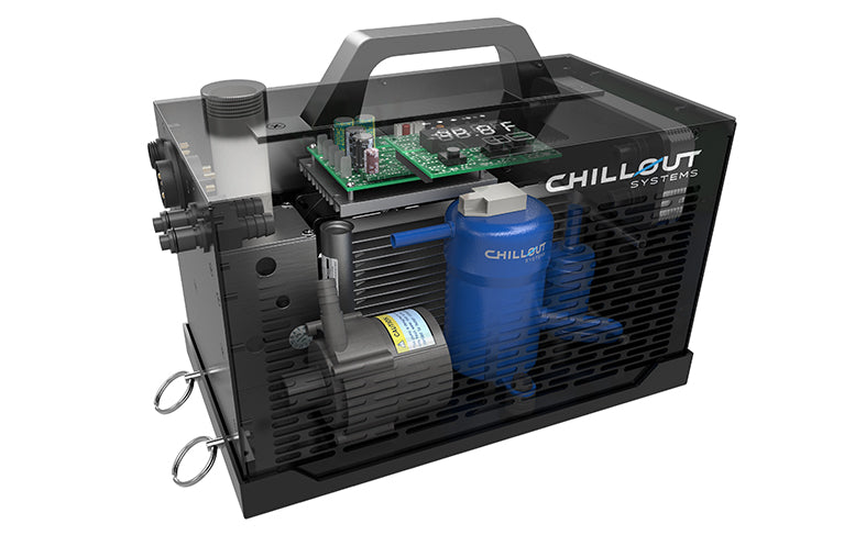 Chillout Systems Quantum Cooling Unit - inter-workings view
