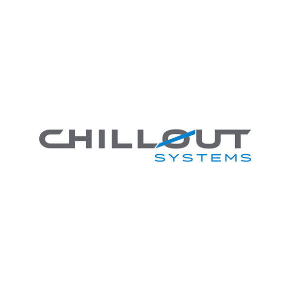ChillOut Systems Dark Grey Vinyl Sticker