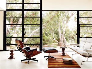 Lounge Chair & Ottoman — Designed by Charles & Ray Eames