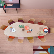 Load image into Gallery viewer, Tweed Zanotta Table — Designed By Garcia Cumini