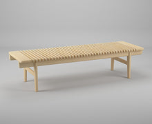 Load image into Gallery viewer, PP Møbler Bench pp589 — Designed by Hans J. Wegner
