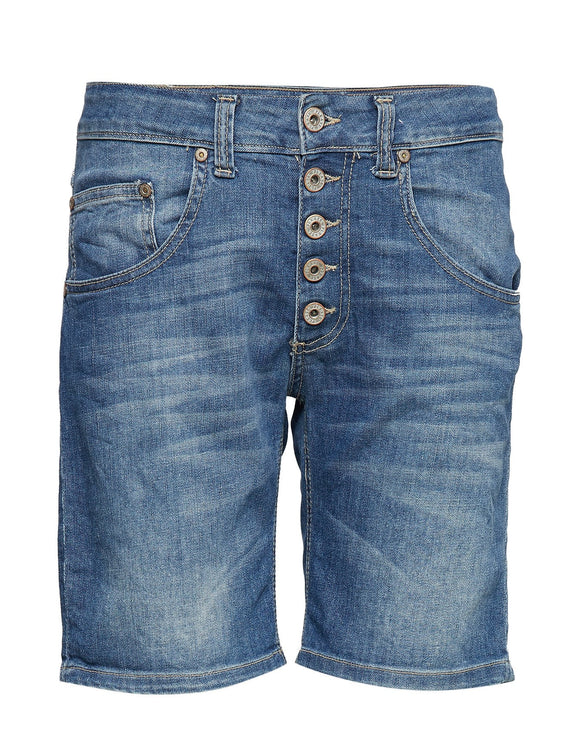 Please Jeans, shortsit farkkusininen