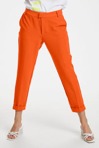 Denim Hunter Ida casual pants, oranssi
