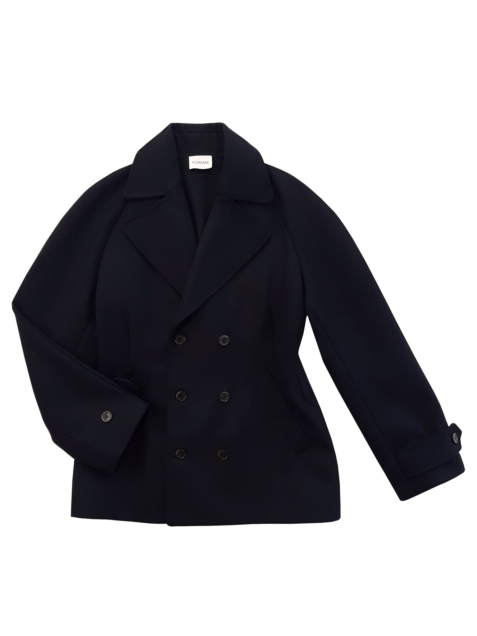 Double Breasted Jacket - Navy