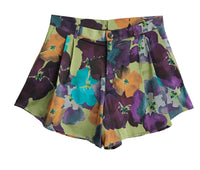Wide Shorts - Flower Print