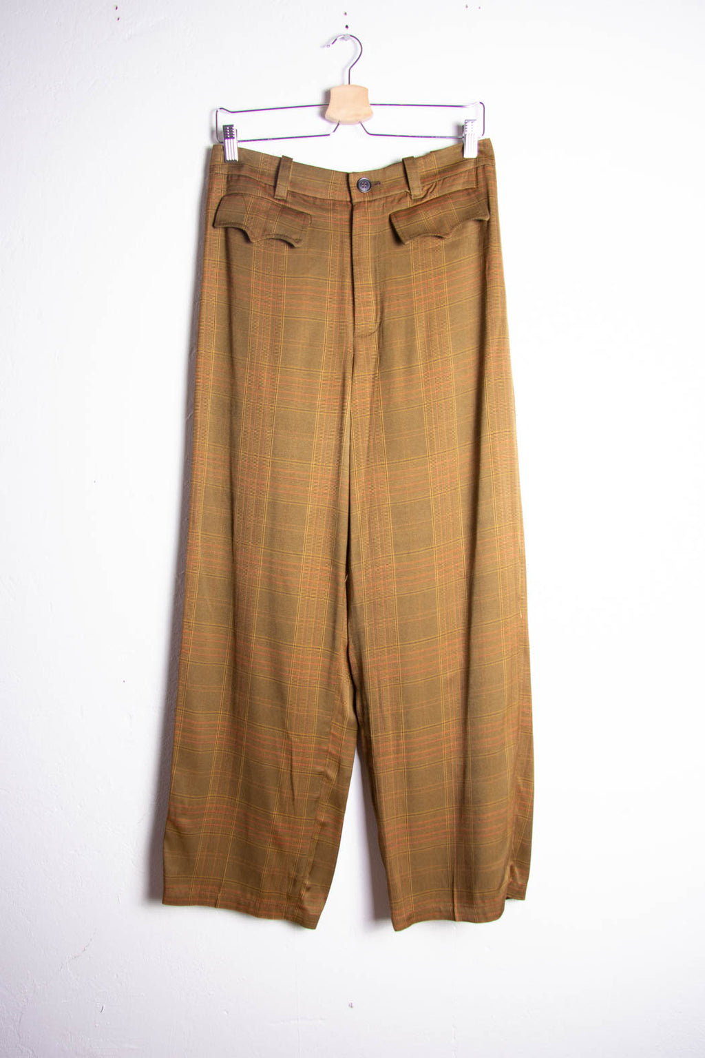 Golden Pipe Trousers