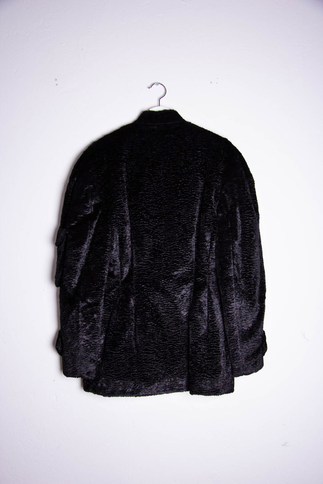 Bar Jacket black teddy