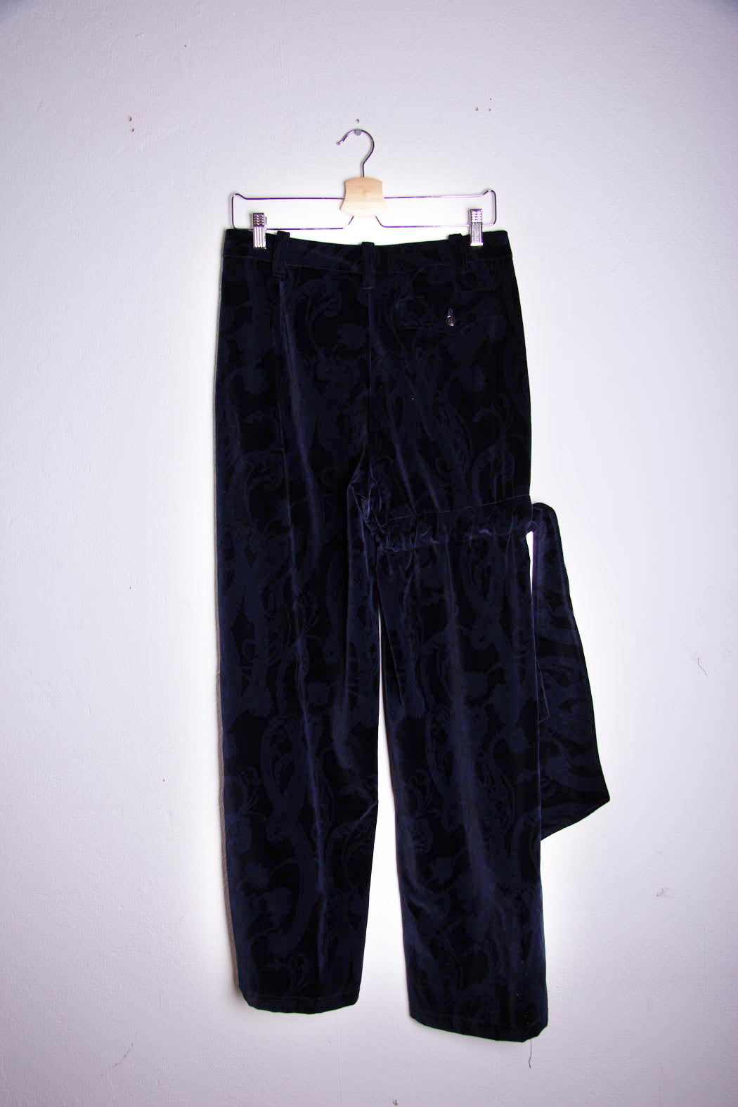 Velvet Bow Trousers