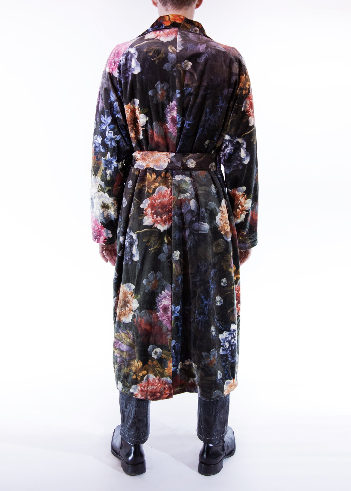 Trench Coat - Velvet Flowers