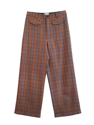 Pipe Trousers - Houndstooth