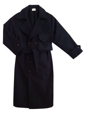 Trench Coat - Navy