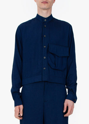 French Shirt -  Blue