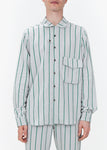 Shirt - Green Stripes