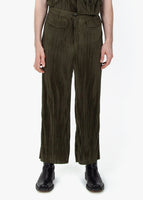 Pipe Trousers - Plisseé