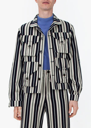 Work Jacket - Stripes