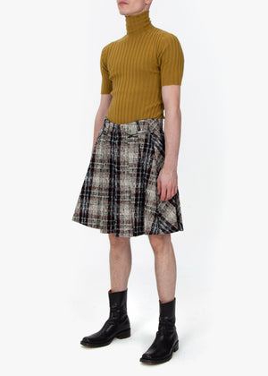 Pleated Trouser Skirt