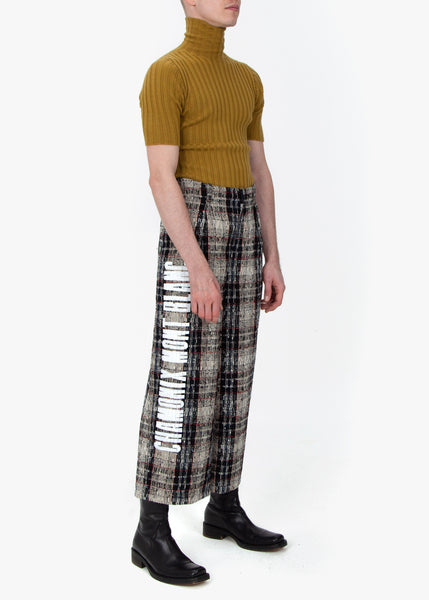 Chamonix Wide Pleated Trousers