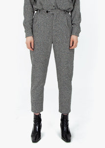 Pleated Trousers - Grey