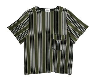 T-shirt - Green Stripes