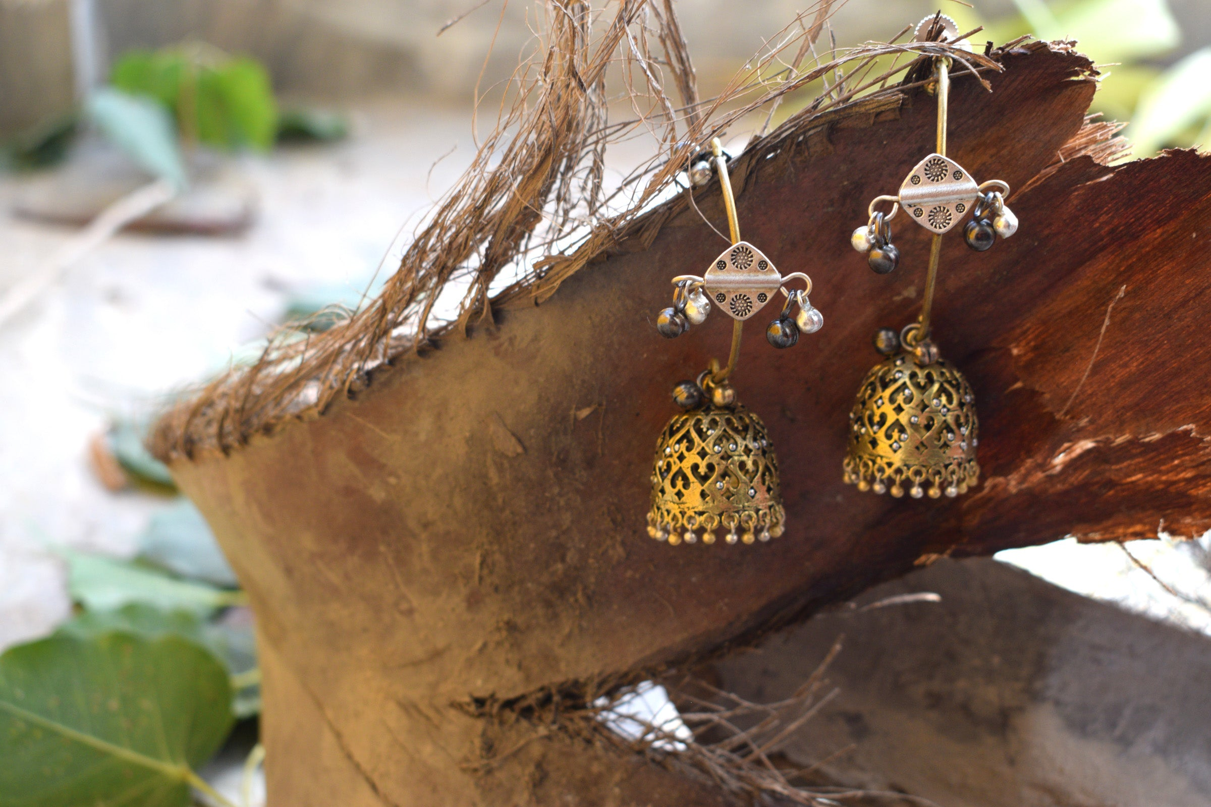 Tribal jhumka