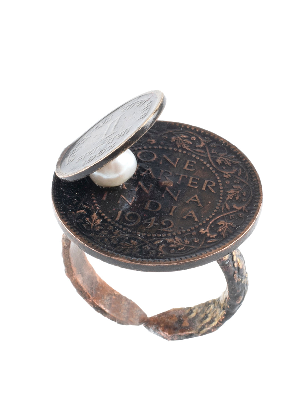 Vintage Rings with Coins-Hidden Ring