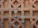 Dual tone Afghani Tree of Life Dangler
