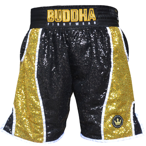 Boxing pants Buddha Fanatik Black - Buddha Fight Wear