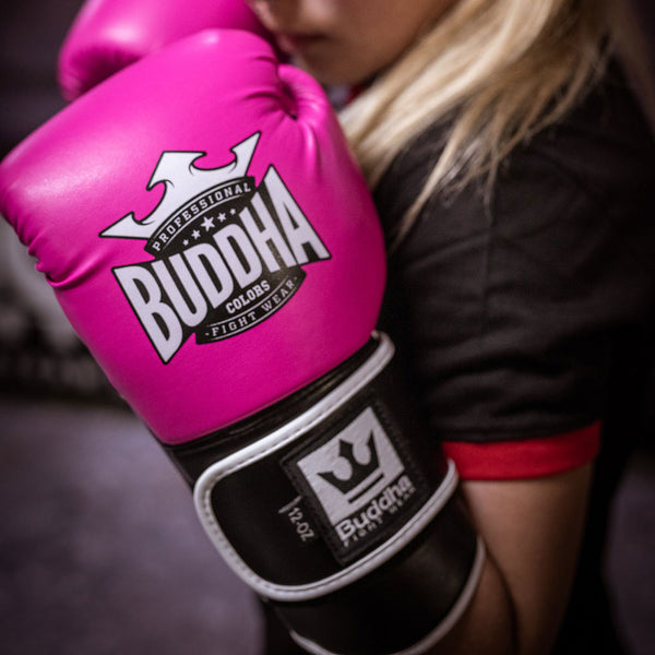 Boxhandschuhe Muay Thai Kick Boxfarben Rosas - Buddha Fight Wear