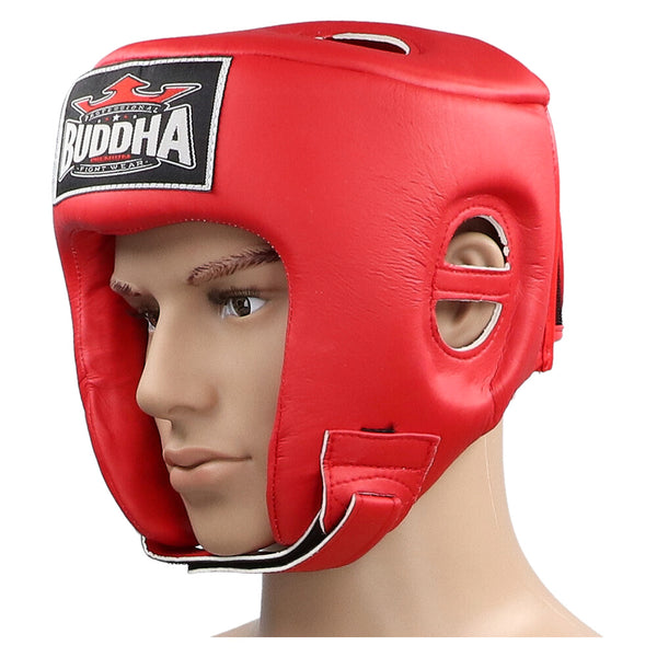 Thailand Competition Helmet Red - Buddha Fight Wear