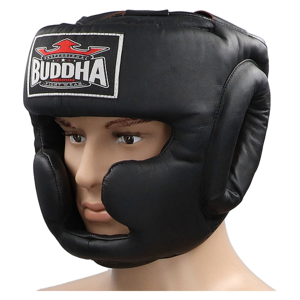 Casc d'Entrenament Thailand Negre - Buddha Fight Wear