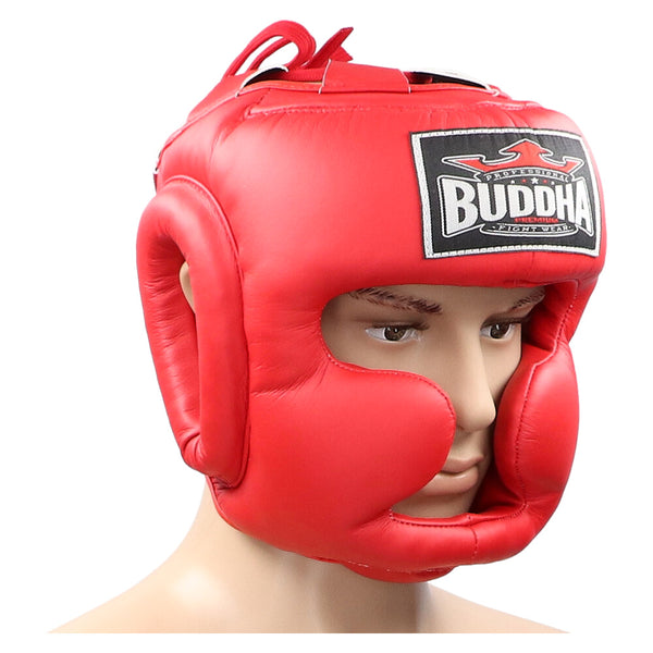 Thailand Roter Trainingshelm - Buddha Fight Wear