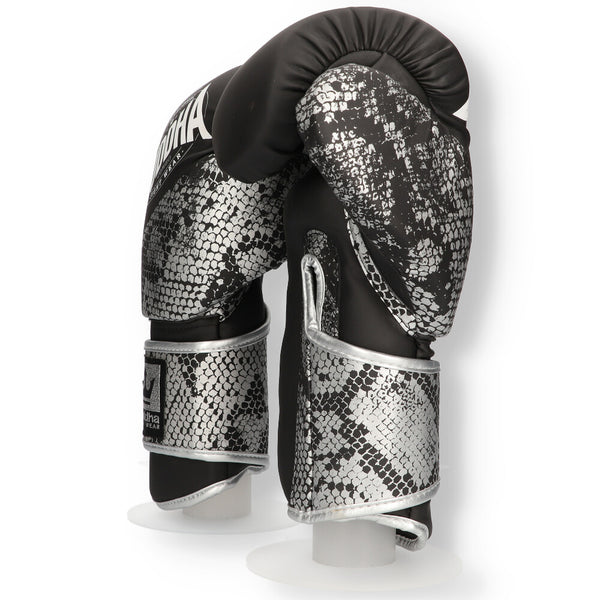Guants de Boxa Muay Thai Kick Boxing Buddha Combo Silver - Buddha Fight Wear