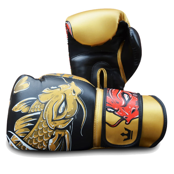 Boxing Gloves Muay Thai Kick Boxing Fantasy Koy - Buddha Fight Wear