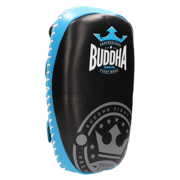 Paos Thailand Leather Buddha Professionals Black Turquoise (Pair) - Buddha Fight Wear